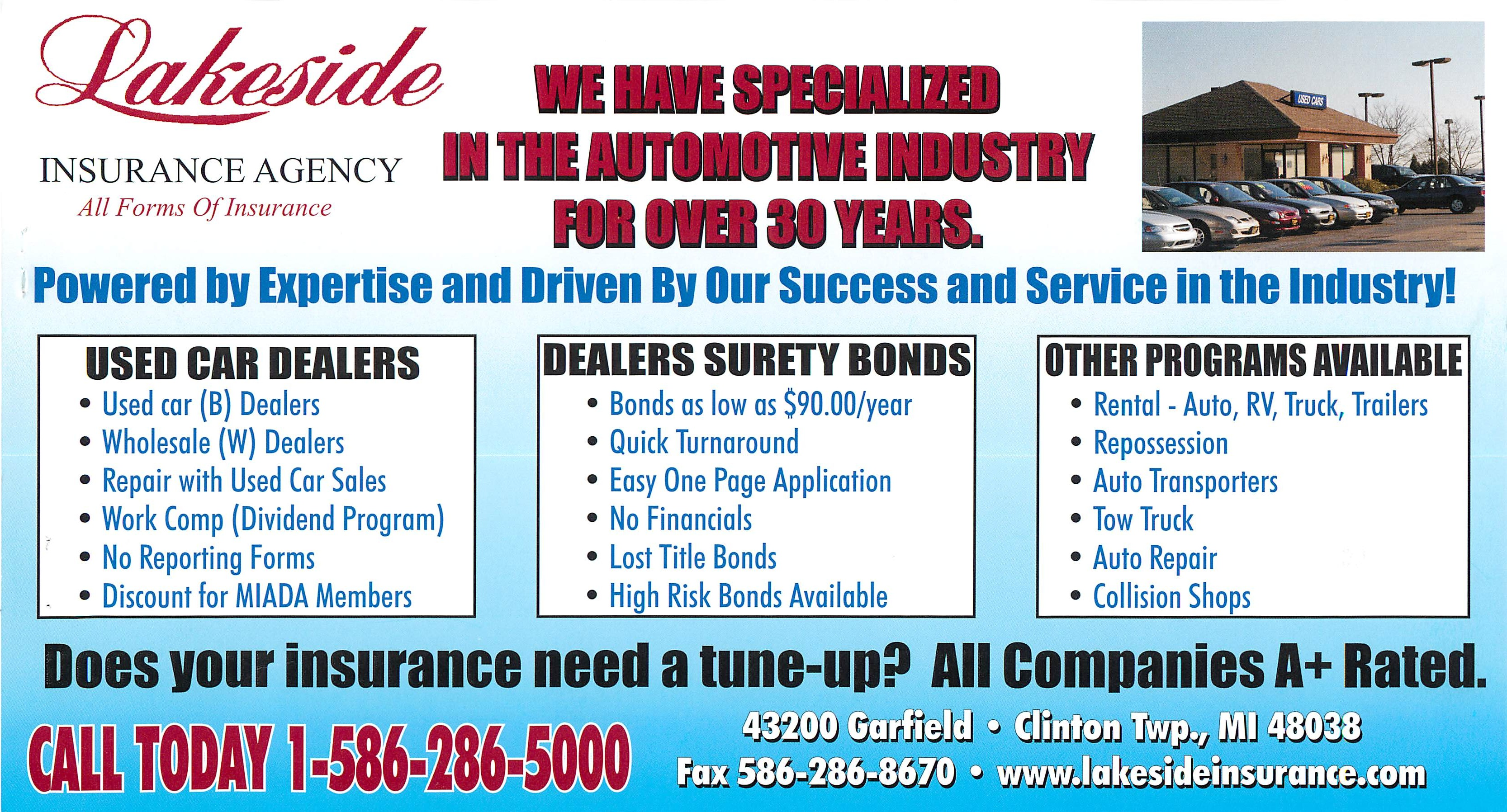 personal surety template - michigan used car dealer insurance dealer surety bond